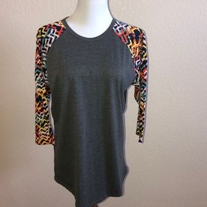 Lularoe quarter sleeve shirt